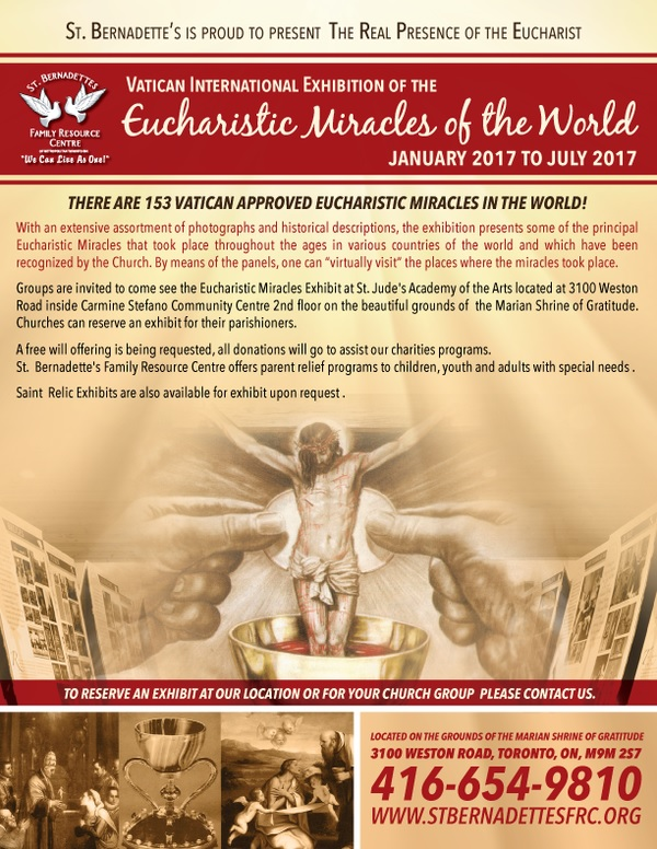Eucharistic Miracles - Churches